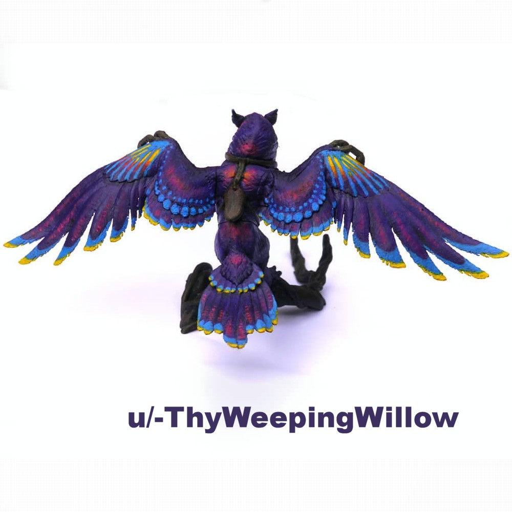 Point-Tipped Corvus | GW2 | 3D model , miniature , figure
